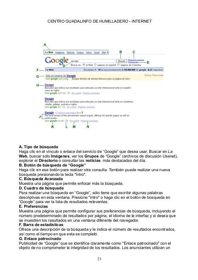 Apuntes Y Ejercicios Curso Internet