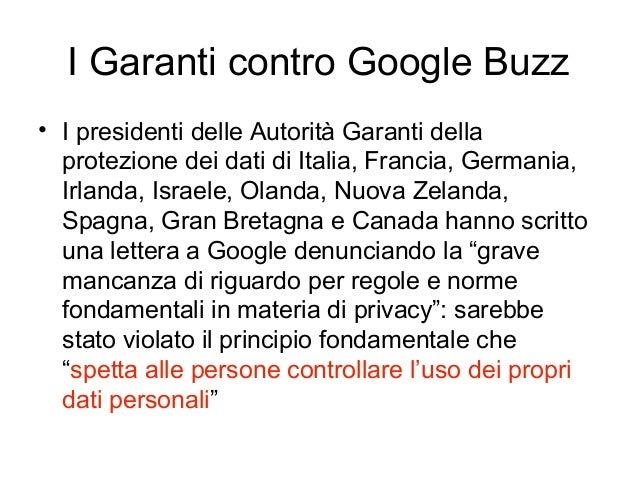 • I presidenti delle Autorità Garanti della protezione dei dati di Italia, Francia, Germania, Irlanda, Israele, Olanda, Nu...
