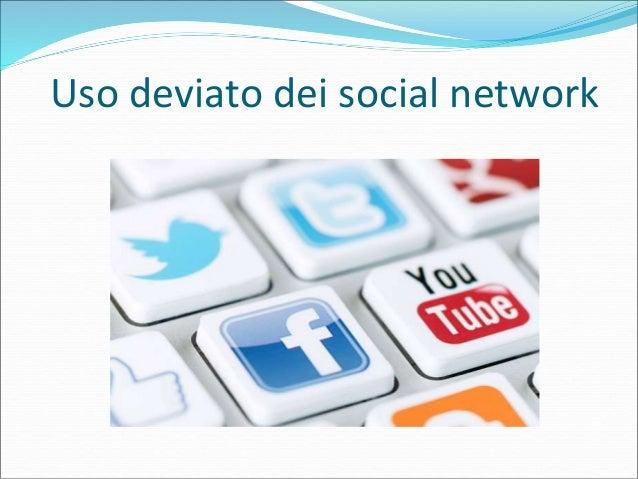 Uso deviato dei social network