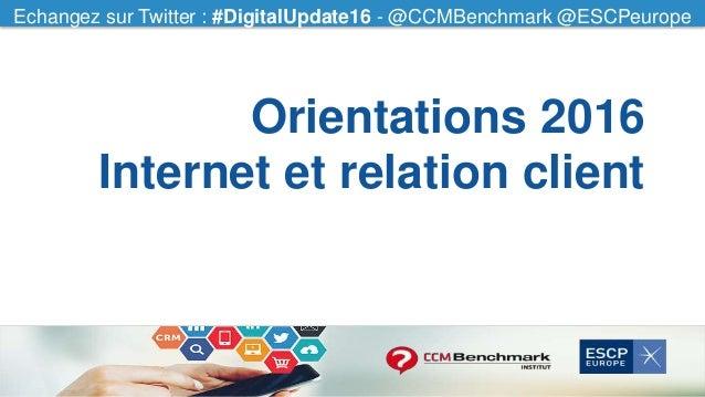 Echangez sur Twitter : #CCMfood - @CCMBenchmarkEchangez sur Twitter : #DigitalUpdate16 - @CCMBenchmark @ESCPeurope Orienta...