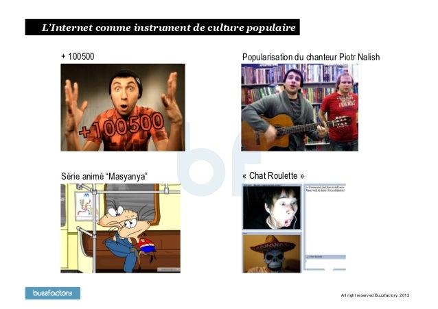 L'Internet comme instrument de сulture populaire   + 100500                          Popularisation du chanteur Piotr Nali...