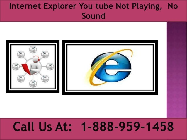 no sound from internet explorer