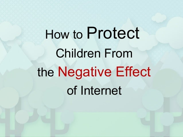 How Does Internet Use Affect Children Today?