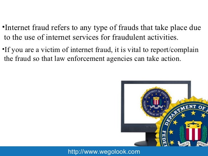 how to make fraud complaint
