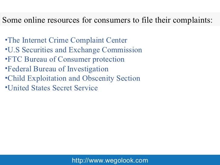 how to make a fraud complaint