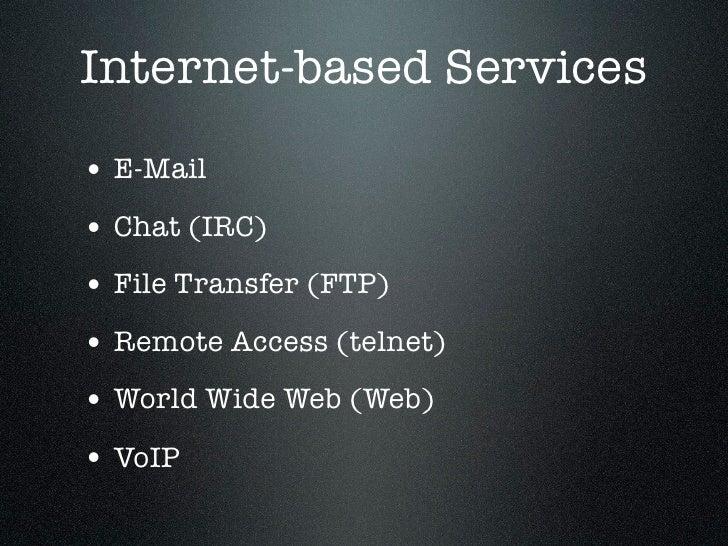 Types of Internet Protocol