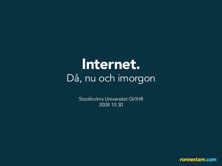 internet i framtiden
