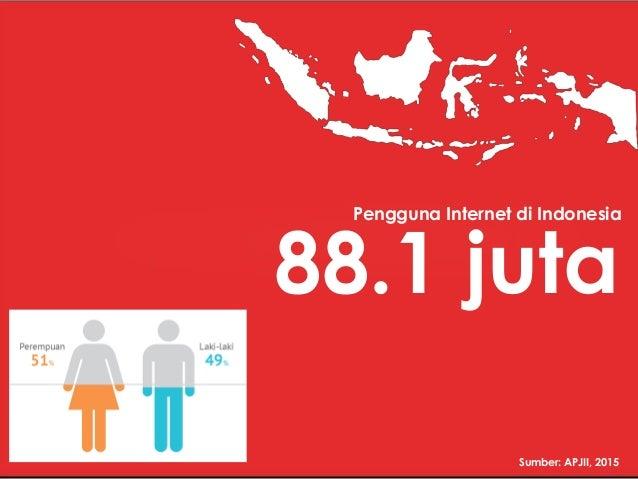 Internet Indonesia Dalam Angka 2015 2016
