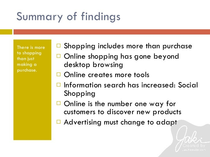 Effects Of Online Shopping Essay