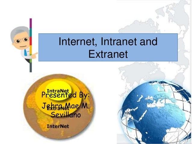 Dibujos De Internet Intranet Y Extranet: Internet, Intranet And Extranet