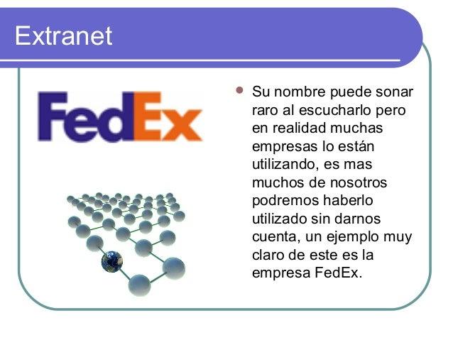 Internet, Intranet Y Extranet