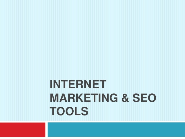 INTERNETMARKETING & SEOTOOLS
