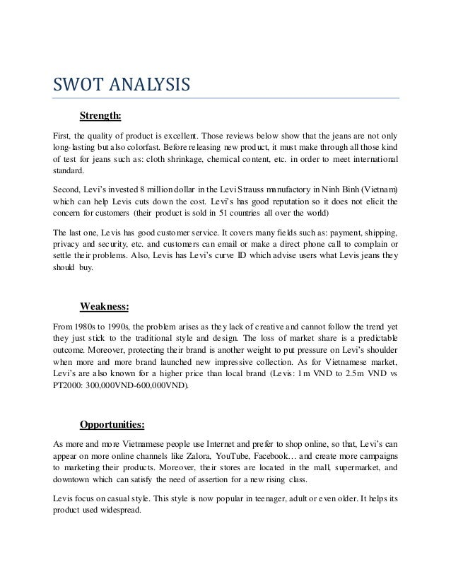 parkson swot analysis A scan of the internal and external environment is an important part of the  strategic planning process environmental factors internal to the firm.