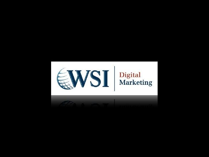 WSI es una agencia de comunicación digital orientada a las Marcas.Trabajamos con empresas y agencias líderes para ayudarle...