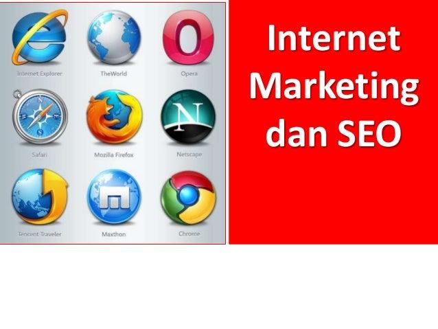 Internet Marketing dan SEO