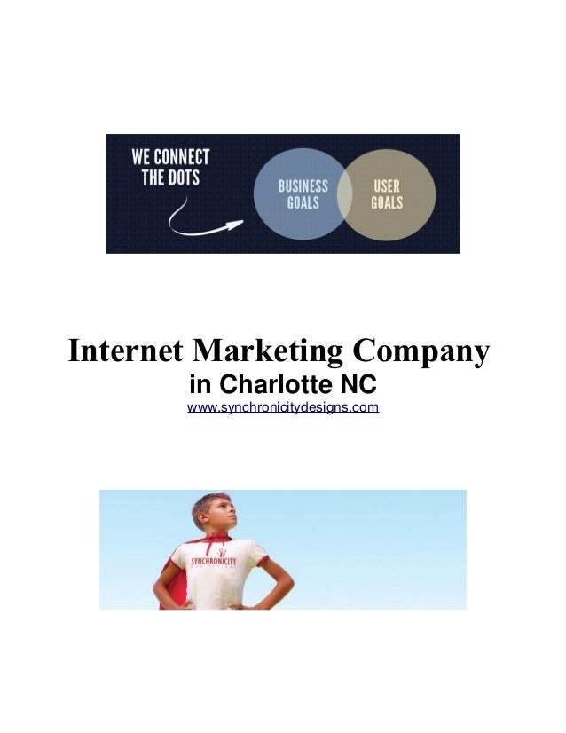 Internet Marketing Company in Charlotte NC www.synchronicitydesigns.com