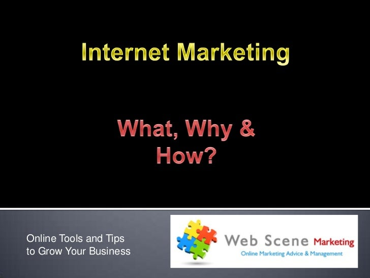 Online Tools and Tipsto Grow Your Business