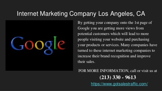 Internet Marketing Los Angeles, CA