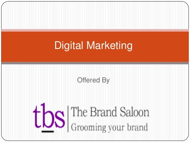 Offered By Digital Marketing