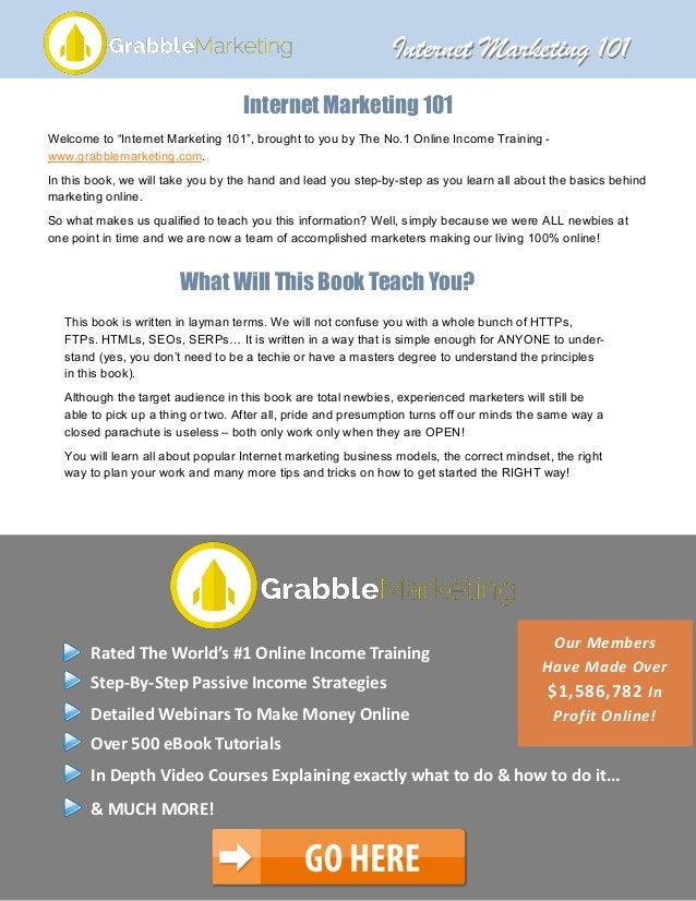 Internet marketing strategies pdf