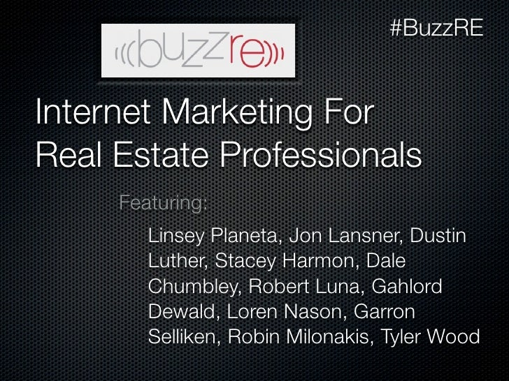 BuzzRE: Internet Marketing Strategy and Implementation