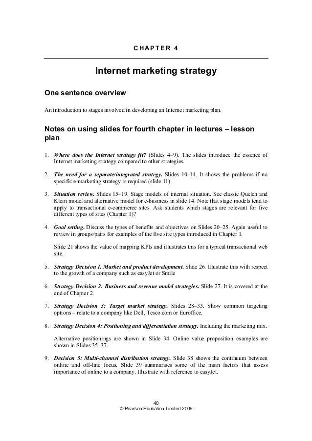 marketing objectives tutor2u