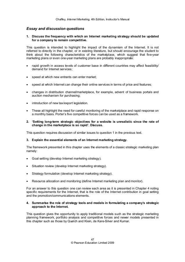 benefits of marketing essay
