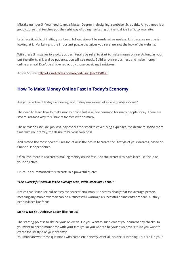Internet money making blueprint 8 malvernweather Choice Image