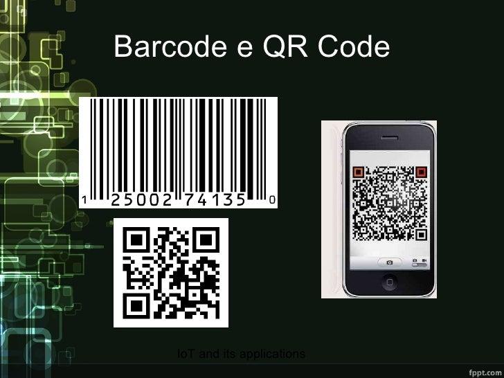 Barcode e QR Code