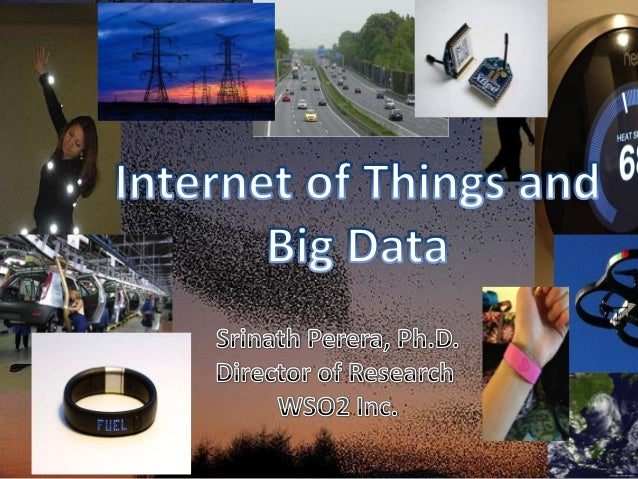Outline • IOT • Why Bigdata? • A reference Architecture • Technologies • Usecases  Photo by John Trainoron Flickr http://w...