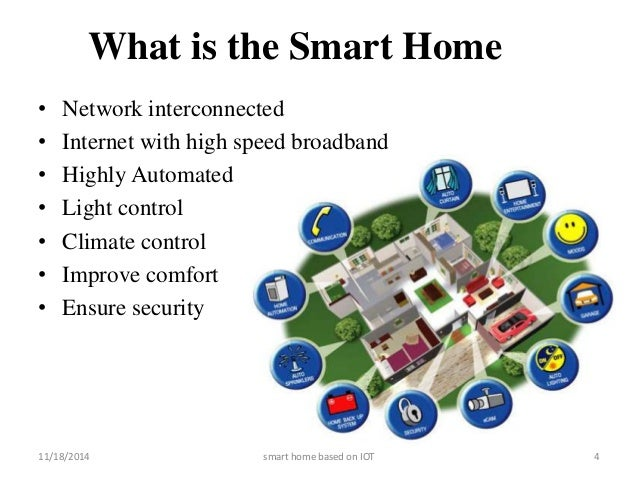 Internet of things for Smart Home