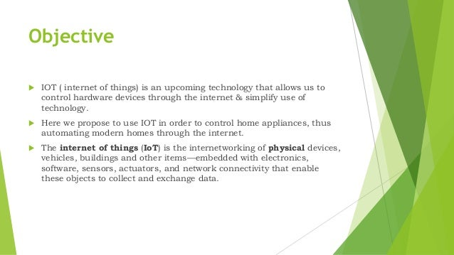 IOT: Home Automation using Android Application