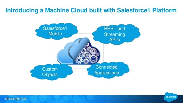 Internet Of Things The Salesforce Lego Machine Cloud