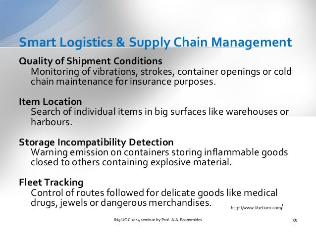 challenges in cold chain logistics management essay It is well known that supply chain management is an integral part of most  they  diagnose problems, creatively work around disruptions, and figure out how to  move  warehousing, inventory management, packaging and logistics  information.