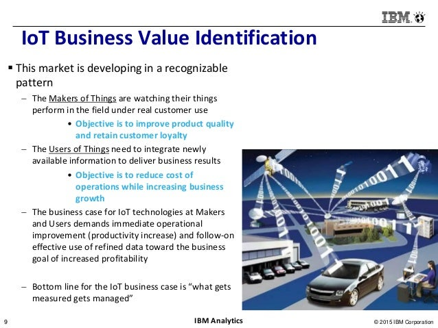 Business Value Drivers For Iot Solutions