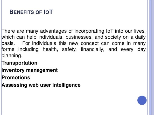 Benefits and Challenges of Internet of Things in Healthcare ...