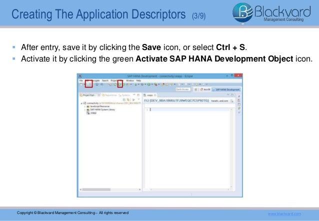 HANA XS Web Service