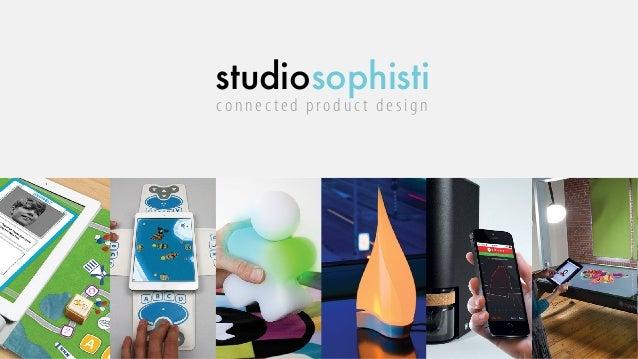 studiosophisti connec ted produc t design