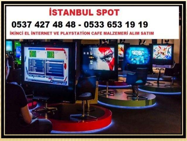 Göktürk İkinci El İnternet Cafe malzemeleri Alanlar 0537 427 48 48 Slide 2