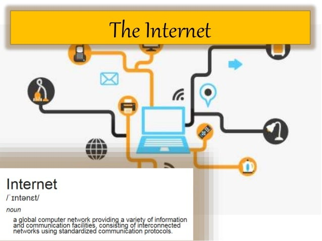 how to put information on the internet