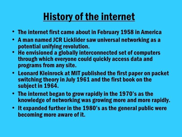 Powerpoint Presentation On Internet use superior