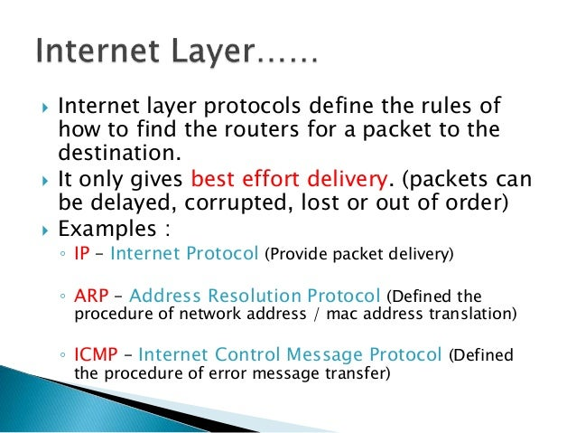  Also known as Network Interface Layer…  The Network Access Layer is the layer in the TCP/IP model at which data is tran...
