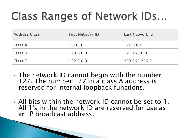  Subnet masks are frequently expressed in dotted decimal notation.  Subnet mask is not an IP address.  Each host on a T...