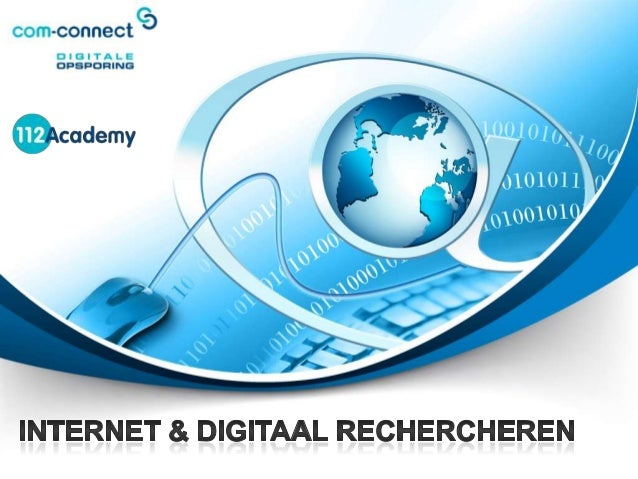 Internet en Digitaal Rechercheren