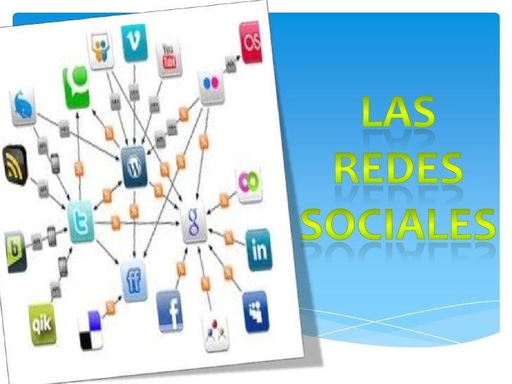 REDES SOCIALESUna red social es una estructura social   en donde hay individuos que se  encuentran relacionados entre si.