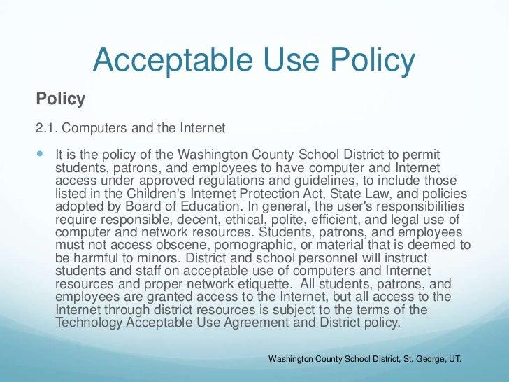Internet Safety Presentation