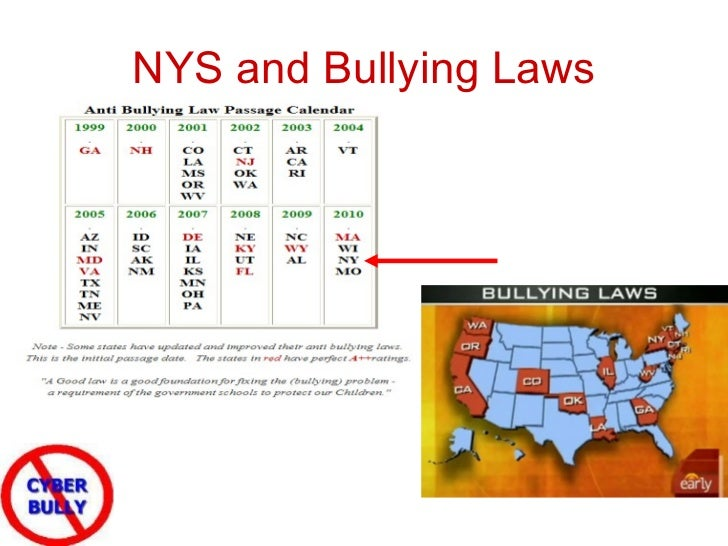 Internet bullying laws