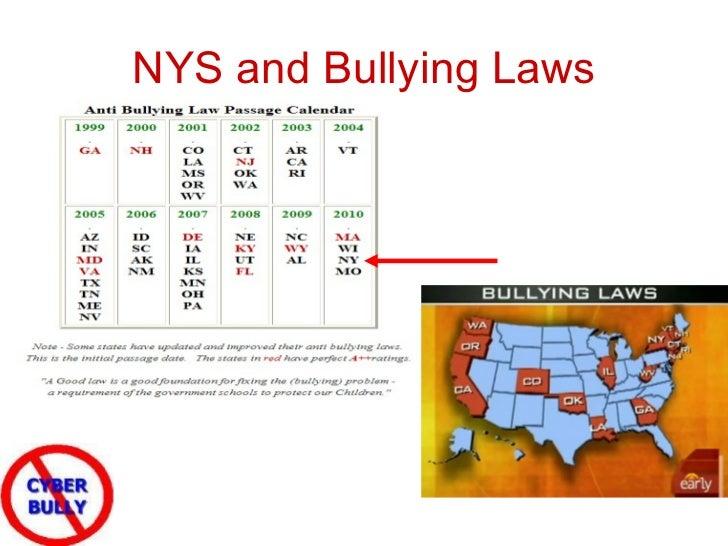 Internet bullying laws