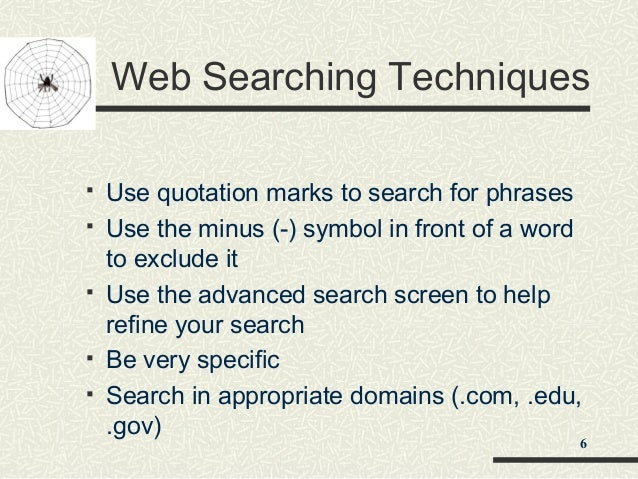 How a Search Engine Works - ONLINE SEARCH TECHNIQUES ...