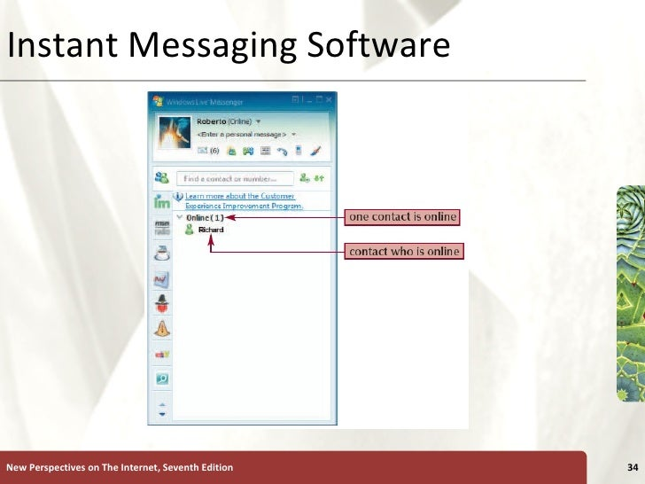 Instant Messaging Programs : Tutorial user generated content on the internet